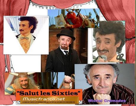 Salut les Sixties du 1 juin 2014 est en ligne.Cette semaine notre invité est Michel Crémades ,acteur, comédien, metteur en scène on le retrouve dans de nombreux films ,Les Visiteurs,Les Ripoux, Astérix et tant d'autres.. L'intégrale de l'émission en Podcasts.Retrouvez également l'interview en intégralité.