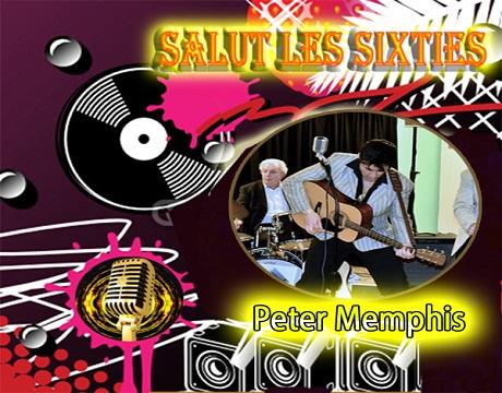 Salut les Sixties du 5 juin  2016 est en ligne. Cette  semaine deux invités . Lottie Blues Women à la voix puissante et voluptueuse . Peter Memphis chanteur de Rock  également multi-instrumentiste. L'intégrale de l'émission en Podcast.