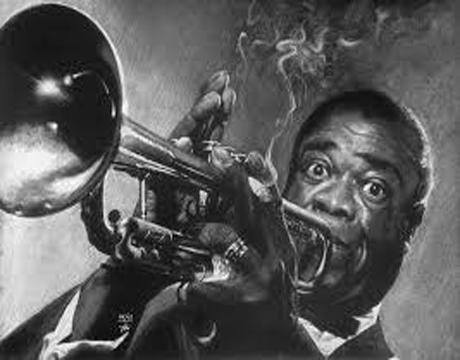 Louis Armstrong dès qu'on souffle dans un instrument, on sait qu'on ne pourra rien en sortir que Louis n'ait déjà fait.Clip vidéo.